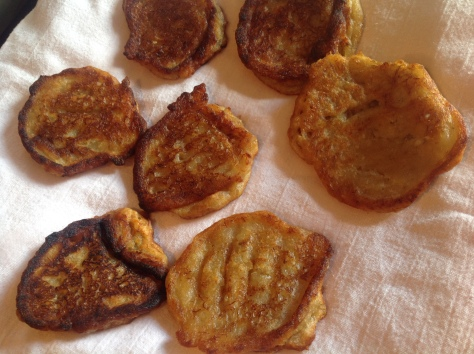 Fritters are Ready to Eat!  Dive In~Jamaican Style